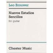 BROUWER L. NUEVOS ESTUDIOS SENCILLOS GUITARE