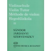 SANDOR METHODE DE VIOLON VOL 3