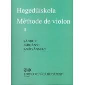 SANDOR METHODE DE VIOLON VOL 2