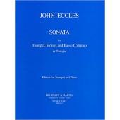 ECCLES J. SONATA RE MAJEUR TROMPETTE