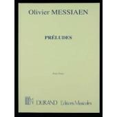 MESSIAEN O. PRELUDES PIANO
