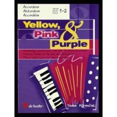 YELLOW PINK PURPLE ACCORDEON