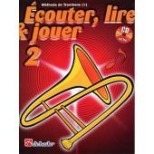ECOUTER LIRE JOUER VOL 2 TROMBONE