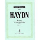 HAYDN J. CONCERTO HOB VIIA:4 EN SOL MAJEUR VIOLON