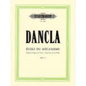 DANCLA C. ECOLE DU MECANISME OPUS  74 VIOLON