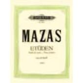 MAZAS ETUDES ARTISTES OP 36 VOL 3 VIOLON