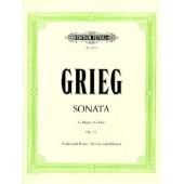 GRIEG E. SONATE N°2 OP 13 VIOLON