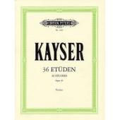 KAYSER H.E. ETUDES OP 20 VIOLON