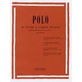 POLO 30 ETUDES A DOUBLES CORDES VIOLON