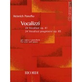 PANOFKA H. 24 VOCALISES PROGRESSIVES OP 85  OP 81CHANT