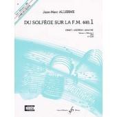 ALLERME J.M. DU SOLFEGE SUR LA FM 440.1 CHANT ELEVE