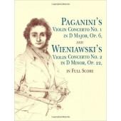 PAGANINI'S CONCERTO N°1 OP 6 WIENIAWSKI'S VIOLIN CONCERTO N°2 OP 22 VIOLON CONDUCTEUR