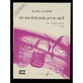 ALLERME J.M. DU SOLFEGE SUR LA FM 440.3 CHANT PROFESSEUR