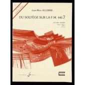 ALLERME J.M. DU SOLFEGE SUR LA FM 440.7 LECTURE RYTHME ELEVE