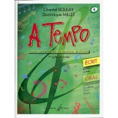 BOULAY C./MILLET D. A TEMPO VOL 4 ECRIT