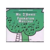 SICILIANO M.H. MA 2ME ANNEE DE FORMATION MUSICALE CD