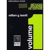 BERKLEE/LEAVITT METHODE MODERNE DE GUITARE VOL 1