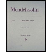 MENDELSSOHN F. ROMANCES SANS PAROLES PIANO