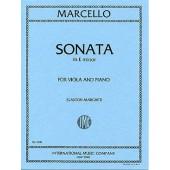 MARCELLO B. SONATE MI MINEUR ALTO