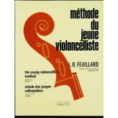 FEUILLARD L.R. METHODE DU JEUNE VIOLONCELLISTE