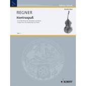 REGNER H. KONTRA-SPASS 12 EASY PIECES CONTREBASSE