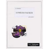GUIGOU A. 10 PIECES FACILES PIANO