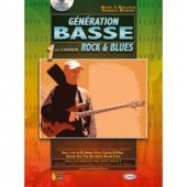 KULLOCK H./ROBERT Y. GENERATION BASSE ROCK BLUES VOL 1 BASSE TAB