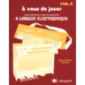 DELRIEU J.P. A VOUS DE JOUER VOL 2 ORGUE