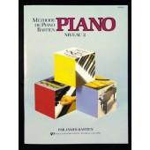 BASTIEN J. METHODE DE PIANO NIVEAU 2
