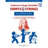 COLLEDGE K./COLLEDGE H. SIMPLY 4 STRINGS A HANDEL SUITE ORCHESTRE