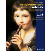 HEYENS G. BLOCKFLOTENTECHNIC VOL 1 FLUTE A BEC