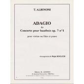 ALBINONI T. ADAGIO VIOLON