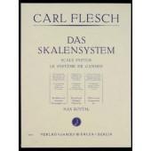 FLESCH C. LE SYSTEME DES GAMMES VIOLON