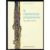CROCQ J.N. LE CLARINETTISTE PREPARATOIRE