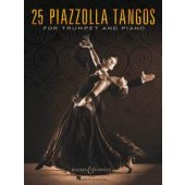 PIAZZOLLA A. 25 PIAZZOLLA TANGOS TROMPETTE