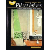 HAURY J./MODIER M. PIECES BREVES PIANO