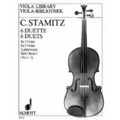 STAMITZ C. 6 DUETS VOL 1 ALTOS