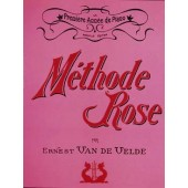 VAN DE VELDE METHODE ROSE ANCIENNE EDITION PIANO