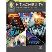 HIT MOVIE & TV INSTRUMENTAL SOLOS CLARINETTE