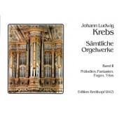 KREBS J.L. OEUVRES COMPLETES VOL 2 ORGUE