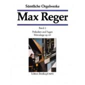REGER M. OEUVRE COMPLETE VOL 2 ORGUE
