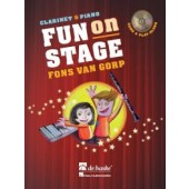 VAN GORP F. FUN ON STAGE CLARINETTE