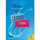 ARBAN 14 ETUDES CARACTERISTIQUES TUBA