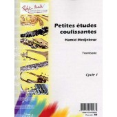 MEDJEBEUR H. PETITES ETUDES COULISSANTES TROMBONE
