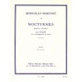 MARTINU B. NOCTURNES 4 ETUDES VIOLONCELLE