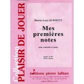 SCHMITT M.L. MES PREMIERES NOTES CLARINETTE