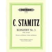 STAMITZ A. CONCERTO N°3 SIB CLARINETTE