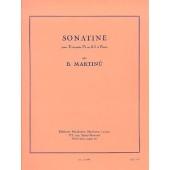 MARTINU B. SONATINE TROMPETTE