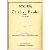 BOCHSA R.N. 40 ETUDES FACILES OP 318 VOL 1 HARPE