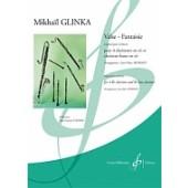 GLINKA M.I. VALSE - FANTAISIE CLARINETTES